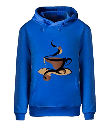 Fatal Decision Men's fleece Outwear Coffee House royalBlue (Tassimo Watch compare prices)