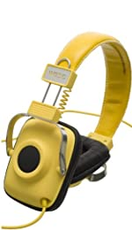 WeSC(ウィー・エス・シー) / Maraca Seasonal Headphones (Dandelion Yellow) - ヘッドホン - 【直輸入】