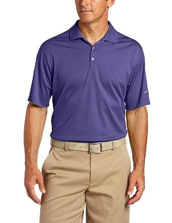 Nike Golf Men's Stretch UV Tech Polo ( Varsity Purple/White,  Medium)