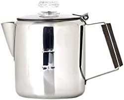 Chinook Timberline 6 Cup Stainless Steel Coffee Percolator made by Chinook