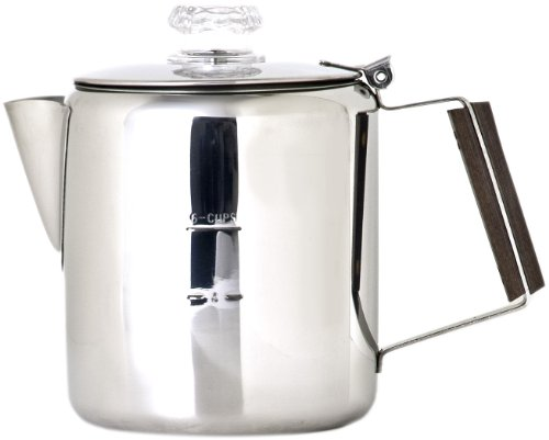 Great Features Of Chinook Timberline 6 Cup Stainless Steel Coffee Percolator