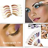 5 X Pair Magic Eyeshadow Instant Eyes Eye Shadow Temporary Transfer Sheet Sticker Make Up Makeup Tattoo Tatoo by Boolavard® TM