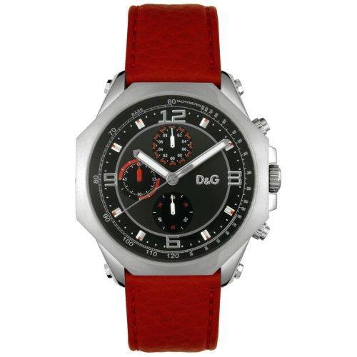 965b4c818 Dolce & Gabbana ose Chrono DW0103 - Reloj de mujer de cuarzo, correa de piel