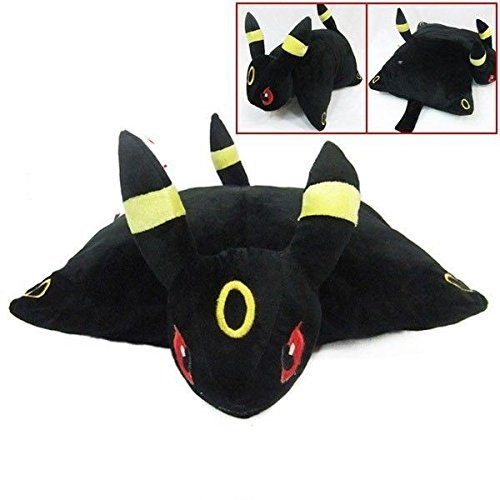 Pokemon UMBREON Transforming Plush Solf Pillow Pet Cushion Plush Doll Big 40CM (3ds Pokemon Omega Red compare prices)