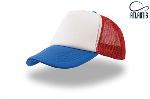 rappeur-bianco-rosso-royal-rap-hip-hop-trucker-cap-trand-casquette-chapeau-caps