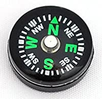 Wholesale Lot of 50pcs Liquid Filled 14mm Small Mini Button Compass by Hammers