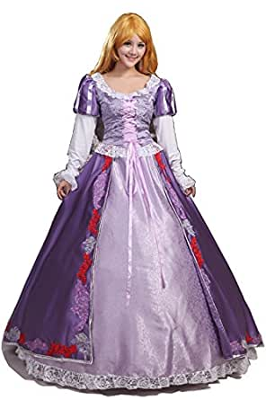 Women or Girls Halloween Cosplay Dress Adult Princess Costume Custom Made Any Size