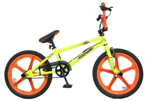 Redemption Mag Wheel Boys BMX Bike - Neon Yellow/Orange, 20 inch