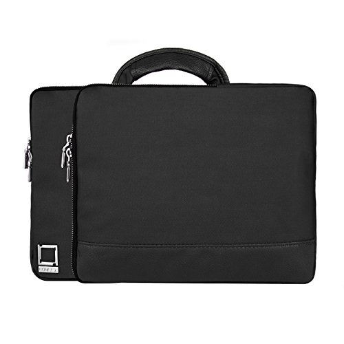 lencca-divisio-onyx-black-twill-sleeve-with-handle-for-hp-probook-elitebook-spectre-pavilion-stream-