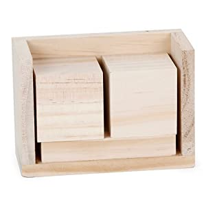 Bulk buy darice diy crafts wood block for Where to buy wood blocks for crafts