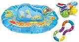 Munchkin Play n Pat Water Mat with Twisty Figure 8 and Teething Keys