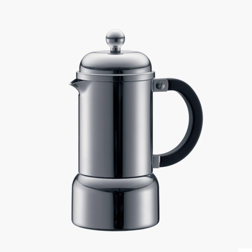 Stainless Stovetop Espresso front-19925