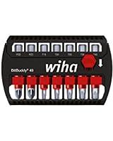 Wiha SB 7946-905 Bitbuddy Coffret de 7 Embouts Maxxtor PH/PZ/Torx® 49 mm avec Attache ceinture