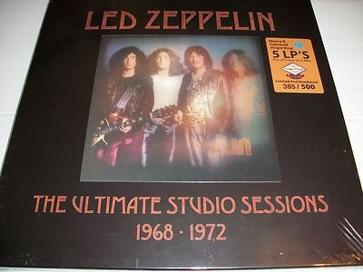 Ultimate Studio Sessions 1968-1972 (5 Lp + 3 Cd Box Set)