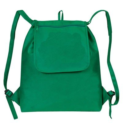 "Read About Yens® Fantasybag ""eGREEN"" Fold-Up Drawstring Cooler Backpack-Forest Green,NCP-..."
