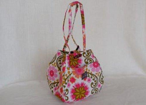 Della Q Rosemary Small Project Knitting Yarn Tote Bag 220-1 Kirkwood Meadow from Della Q