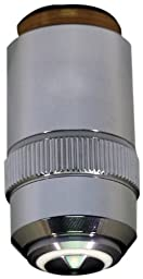 National Optical 799-160 100XR DIN Achromat Objective Lens, N.A. 1.25, For 160 Microscopes