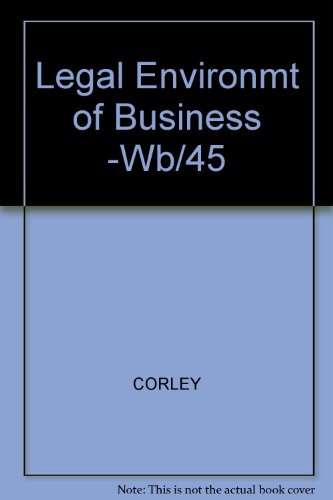 Legal Environment of Business Briefed Case Edition