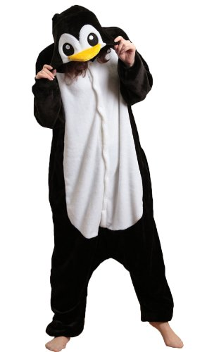 Cute Madagascar Penguin Kigurumi Costume