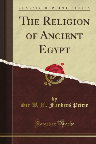 The Religion of Ancient Egypt (Classic Reprint)