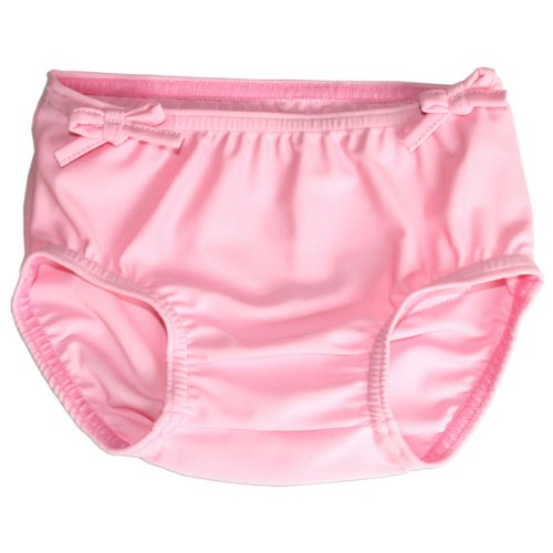 Splash About Girl'S Collections Swim Nappy Cover (Pink Pear, 6-12 Months) front-362656