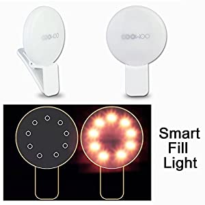 COOWOO New Smartphone Fill-light with USB Cable for All Smartphone and Tablet Easy for creative photography and videography