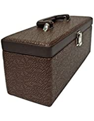 Essart PU Leather Mini Bar Set |Mega Bar Set | Leatherette Briefcase Bar Set | Bar Set | Bar Set For Picnic |... - B01KXR9CL2