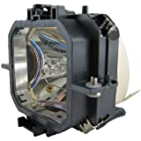 Replacement Lamp For Epson EMP-730C 150-Watt UHP (with Compatible Housing) By Generic