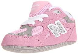 New Balance KJ990 Crib Shoe (Infant/Little Kid),Pink,0 M US Infant