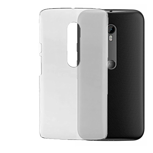 Noise Matt Transparent Flip Thin Hard Bumper Back Case Cover For Moto G (3rd Gen), Moto G Turbo Edition