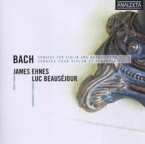 J.S. Bach: Sonatas for Violin and Harpsichord Vol. 2