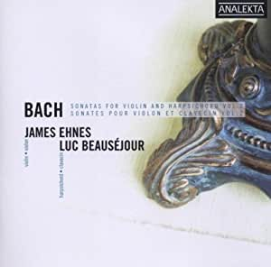 Bach: Sonatas for Violin and Harpsichord, Vol. 2