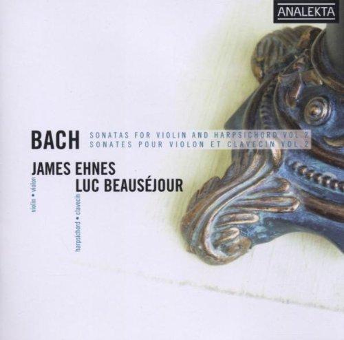 Sonates Pour Violon Et Clavecin Vol. 2 : Sonate En Fa Mineur No. 5 Bwv 1018, Sonate En Sol Majeur No. 6 Bwv 1019, Sonate