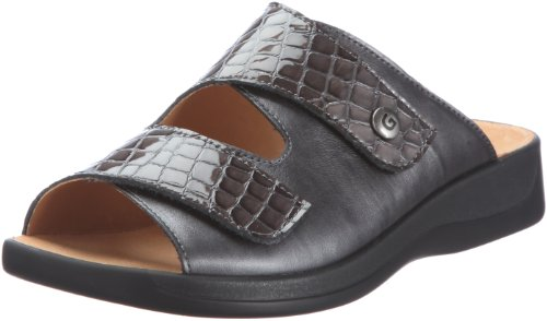 Ganter Monica, Weite G 3-202503-63620, Damen Clogs & Pantoletten, Grau (graphit/antrazit 6362), EU 40 (UK 6.5)
