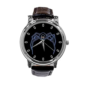 [ZhuYou] Custom Animated Spider Fashion Design Personalized Men Women Wrist Watch Leather Band Men's Sport Watch hot!