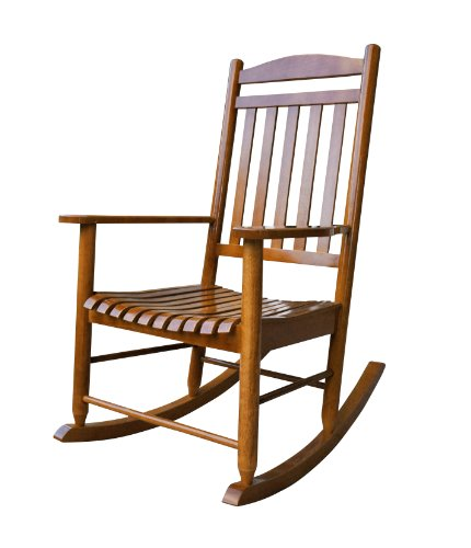 Shine Company Maine Porch Rocker, Oak
