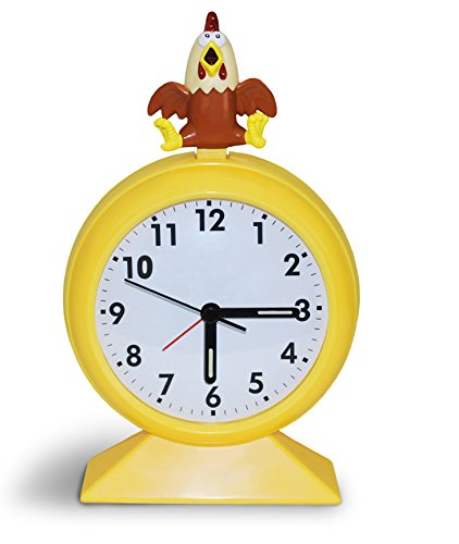 Big Mouth Toys Crazy Clucking Chicken Alarm Clock