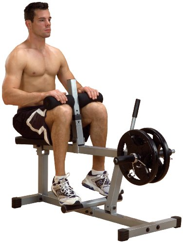 Powerline Psc43X Seated Calf Machine front-58003