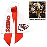 Kansas City Chiefs Ponytail Holder Hair Tie Ribbon at Amazon.com