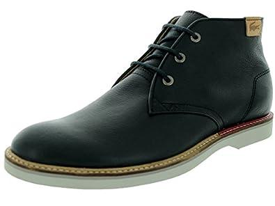 Lacoste Men's Sherbrooke Hi 10 Srm Black Casual Shoe 8 Men US