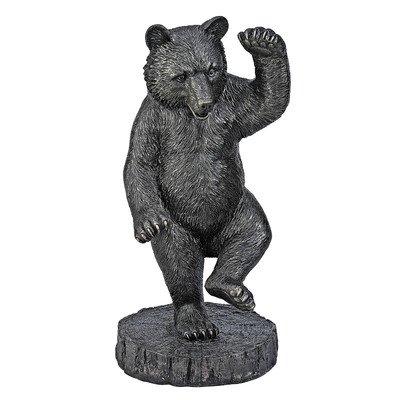 Design Toscano KY71187 The Bear Dance Garden Statue, Bronze