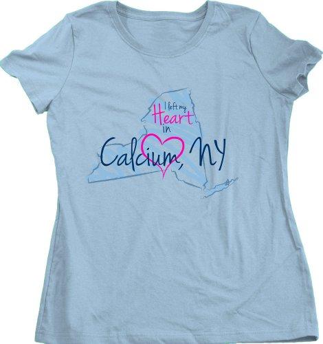 I Left My Heart In Calcium, Ny Ladies' T-Shirt | New York Pride-Medium