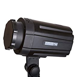 StudioPRO SP-100 Photography Studio Monolight, Professional Strobe Flash Lighting Head 100 Watts for Studio, Location, and Portrait Photography