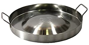 """Ballington 16"""" Up Down Convex Stainless Steel Comal for Portable Gas Stove by Ballington"""