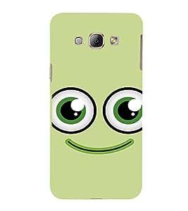 EPICCASE smiley Mobile Back Case Cover For Samsung Galaxy A8 (Designer Case)