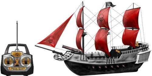 RC Pirate Ship R/C Pirates of the Caribbean Boat Radio Remote Control Yacht Cruiser