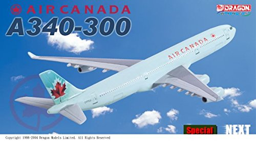 1:400 Dragon Wings Airbus A340-300 Air Canada (pre-painted/pre-built) (A340 Air Canada compare prices)