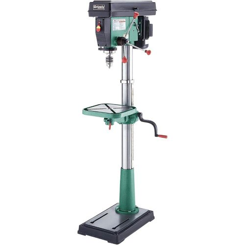 Grizzly g7947 12 speed floor drill press 17 inch drill for 13 floor drill press