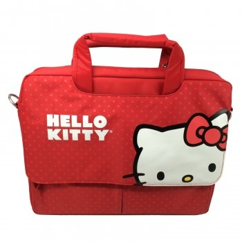 Hello Kitty Laptop Case- Red