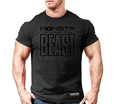 Monsta Clothing Co. Men's Monsta-BEAST (TEE194) T-shirt